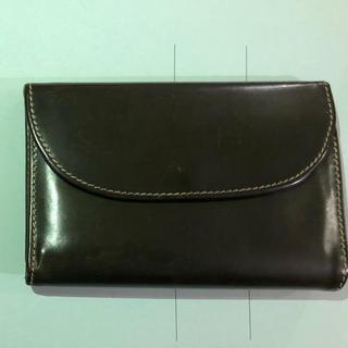 ホワイトハウスコックス(WHITEHOUSE COX)のホワイトハウスコックス 三つ折り財布 グリーン(折り財布)