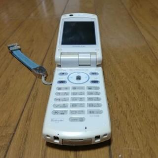 エヌティティドコモ(NTTdocomo)のドコモ SH700is FOMA ガラ携 ジャンク(携帯電話本体)