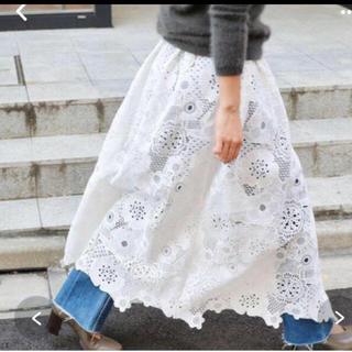IENA - IENA*luana レース巻きスカート