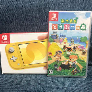 Nintendo Switch - Nintendo Switch lite yellow + あつまれどうぶつの森