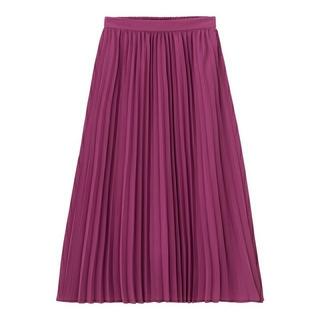 ジーユー(GU)のGU プリーツミディスカート(ロングスカート)