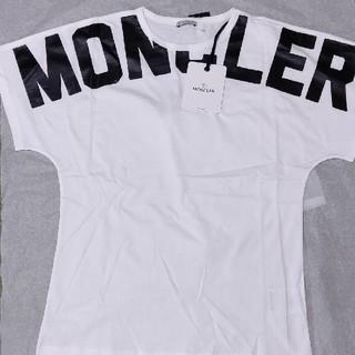 モンクレール(MONCLER)のMONCLER モンクレール ロゴTシャツ(Tシャツ(半袖/袖なし))