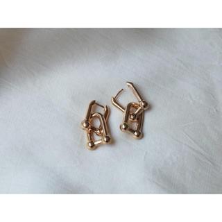 IENA SLOBE - ⌘link chain  pierce⦅gold⦆