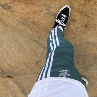 adidas - adidas Originals トラックパンツ ブルー グリーン