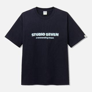 ジーユー(GU)のGU ✕ STUDIO SEVEN   ビッグT (半袖) Mサイズ(Tシャツ/カットソー(半袖/袖なし))