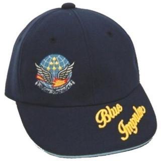 子供用 航空自衛隊 ブルーインパルス ワッペン付 紺 フリー (帽子)