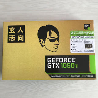 玄人志向 GF-GTX1050Ti-4GB/OC/SF