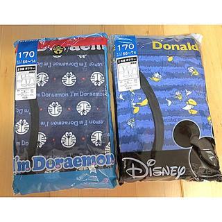 ディズニー(Disney)のディズニー&ドラえもん ボクサーパンツ❣️新品4枚❣️170サイズ❣️(下着)