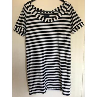 ジーユー(GU)のGU ボーダー Tシャツ トップス(Tシャツ(半袖/袖なし))