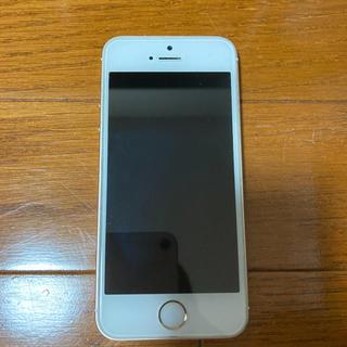 アップル(Apple)のiPhone SE(第一世代) Gold 64 GB SIMフリー(スマートフォン本体)