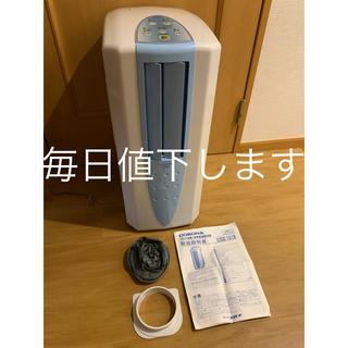 コロナ(コロナ)の美品 corona コロナ CDM-1019 冷風衣類乾燥除湿機 2019年製(加湿器/除湿機)