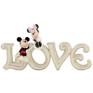 ディズニー(Disney)のレノックス ディズニー ミッキーとミニー Love プラーク フィギュア(アニメ/ゲーム)