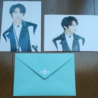 シャイニー(SHINee)のSHINee ミンホ公式ポストカード&封筒セット(アイドルグッズ)