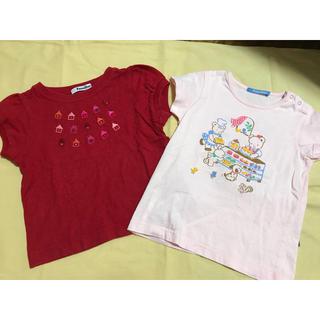 familiar - ファミリア シャツ2枚 美品 サイズ100