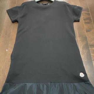 モンクレール(MONCLER)の阪急百貨店購入品 美品 モンクレール  ワンピース 黒色(ひざ丈ワンピース)