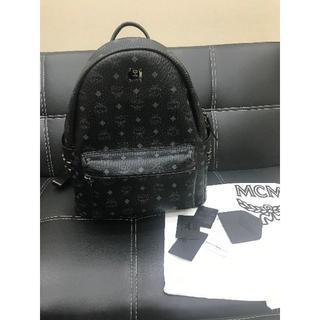 MCM - MCM リュック ブラック  M