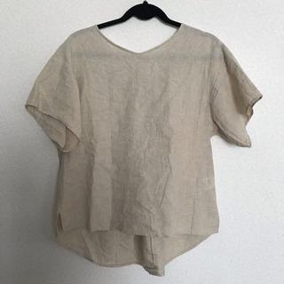 スタディオクリップ(STUDIO CLIP)のコットン リネン  カットソー(Tシャツ(半袖/袖なし))