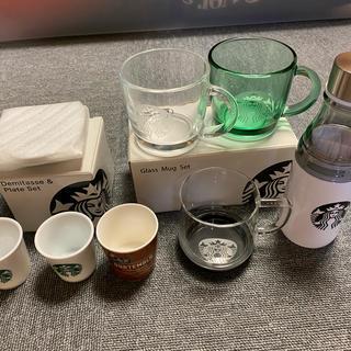 スターバックスコーヒー(Starbucks Coffee)のSTARBUCKS マグカップセット他(グラス/カップ)