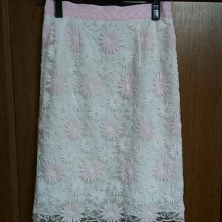 Debut de Fiore - 刺繍スカート