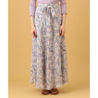 デイシー(deicy)のDEICY♡シアーフローラサーキュラースカート(ロングスカート)