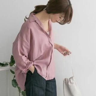 ドアーズ(DOORS / URBAN RESEARCH)の新品URBAN RESEARCH DOORS ラミーワイドシャツ(シャツ/ブラウス(長袖/七分))