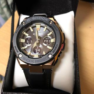 ジーショック(G-SHOCK)のGショックGスチール、タフソーラー、美品(腕時計(デジタル))