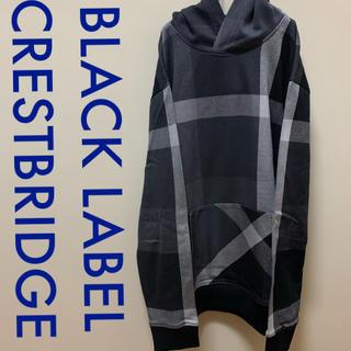 BLACK LABEL CRESTBRIDGE - Black label crestbridge  パーカー ブラック グレー