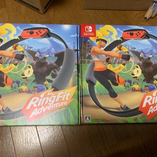 リングフィット 新品 2個 Nintendo Switch リングフィット (家庭用ゲームソフト)