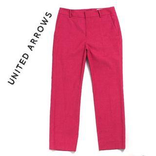 ユナイテッドアローズ(UNITED ARROWS)の春夏物 UNITED ARROWS リネン混 スリムアンクルパンツ(その他)