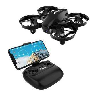 ドローン 高度保持 HD空撮カメラ WiFiリアタイム ヘッドレスモード (トイラジコン)