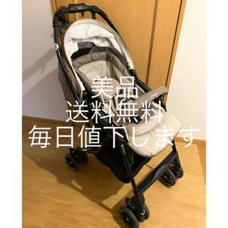 combi - 美品 Combi コンビ メチャカルハンディオート4キャス エッグショック HF