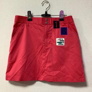 ルコックスポルティフ(le coq sportif)の新品タグ付き ルコック ゴルフ スカート サイズ11(ウエア)