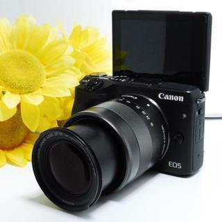 キヤノン(Canon)の【Wi-Fi内蔵&自撮り!】Canon EOS M3 レンズキット(ミラーレス一眼)