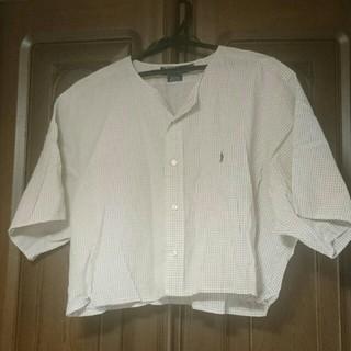 ポロラルフローレン(POLO RALPH LAUREN)のラルフローレン リメイクシャツ(シャツ/ブラウス(半袖/袖なし))