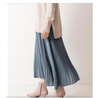 スピックアンドスパンノーブル(Spick and Span Noble)のSPICK&SPAN/ 2020ss 今季 人気完売色 プリーツスカート(ロングスカート)
