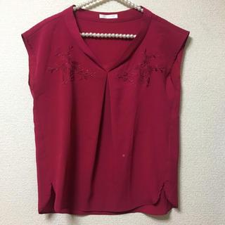 エージーバイアクアガール(AG by aquagirl)のagbyaquagirl♡刺繍ブラウス(シャツ/ブラウス(半袖/袖なし))