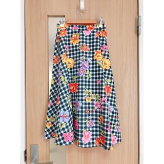 tocco - tocco closet ギンガムフラワースカート