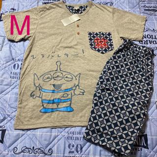 ディズニー(Disney)のタイムSALE❣️【新品】⭐️エイリアンTシャツ&ハーフパンツ⭐️ディズニー⭐️(Tシャツ/カットソー(半袖/袖なし))