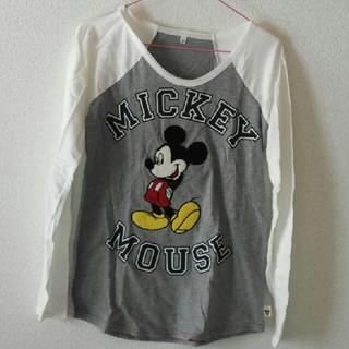 ディズニー(Disney)の新品❗ミッキー 長袖Tシャツ❗ディズニー(Tシャツ(長袖/七分))