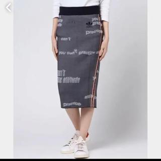 アディダス(adidas)のアディダス adidas タイトスカート(ロングスカート)