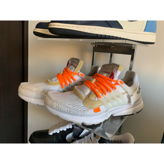NIKE - NIKE×off-white  the ten:prest white 28.0