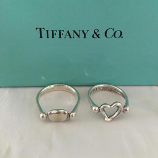 ティファニー(Tiffany & Co.)のTIFFANY&Co リング オープン ハート&ビーン(リング(指輪))