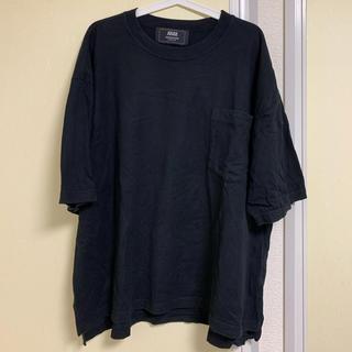 アンリアレイジ(ANREALAGE)のANREALAGE ビックシルエットTシャツ 黒(Tシャツ/カットソー(半袖/袖なし))