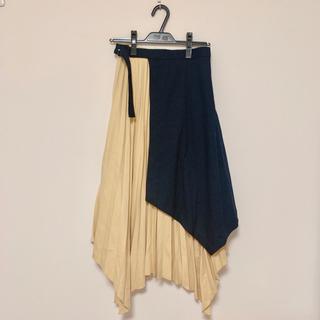 Mila Owen - ミラオーウェン MilaOwen プリーツスカート アシメスカート 新品未使用