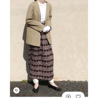 Roku 6 アフリカン 巻きスカート