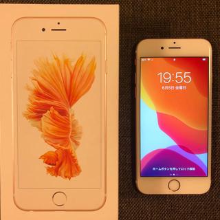 iPhone - iPhone 6s , Rose Gold 64GB SIMロック解除済