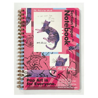 アンディウォーホル(Andy Warhol)のアンディウォーホル B6リングノート CAT(その他)