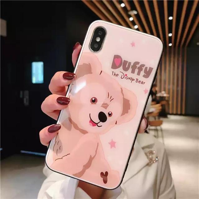 Disney(ディズニー)のディズニー ダッフィー iPhoneXR スマホ/家電/カメラのスマホアクセサリー(iPhoneケース)の商品写真