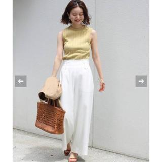IENA - IENA♡seseライトOXセミワイドパンツ