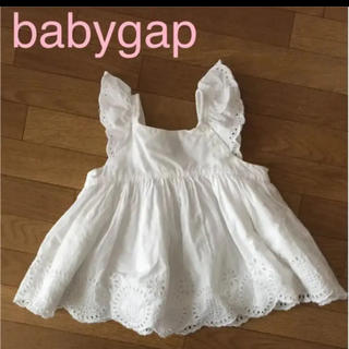 babyGAP - babygap レースチュニック カットソー トップス キャミソール